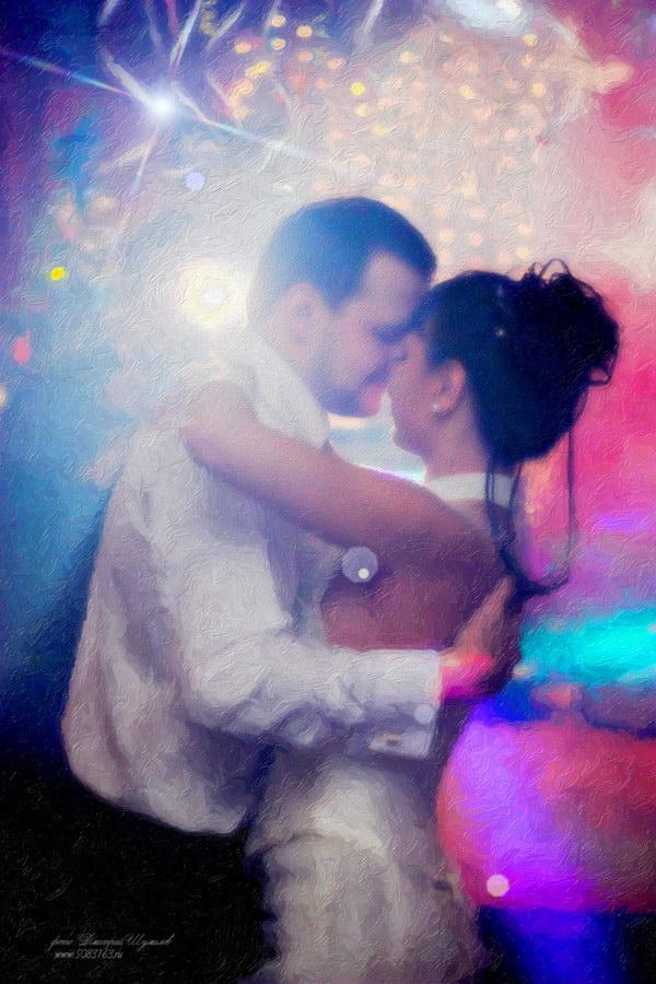 Свадебная фотография - Первый танец.