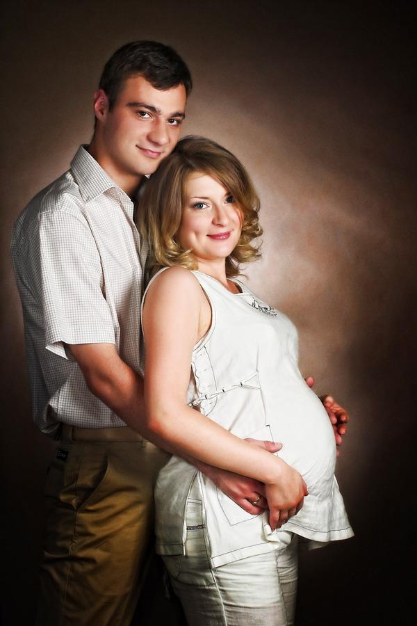 Студийные фотографии беременность 11