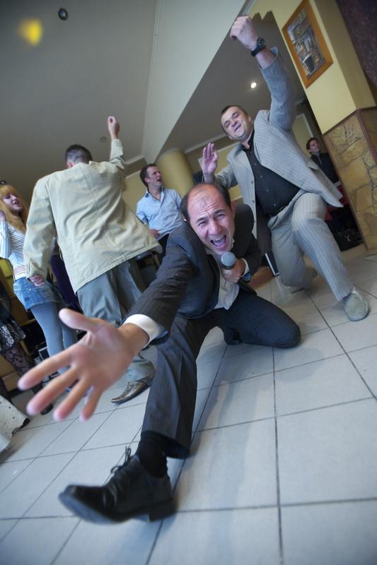 Динамичный свадебный конкурс