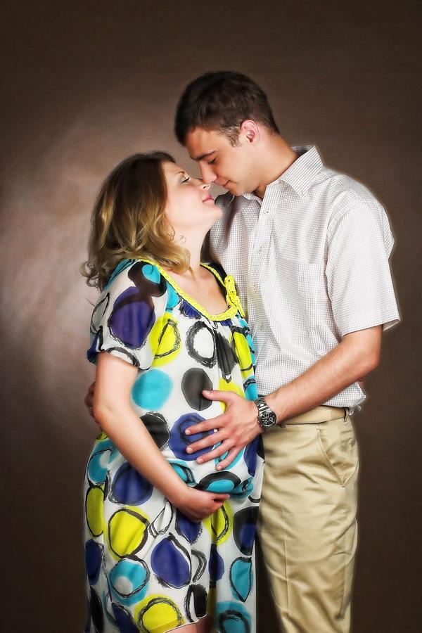 Студийные фотографии беременность 4