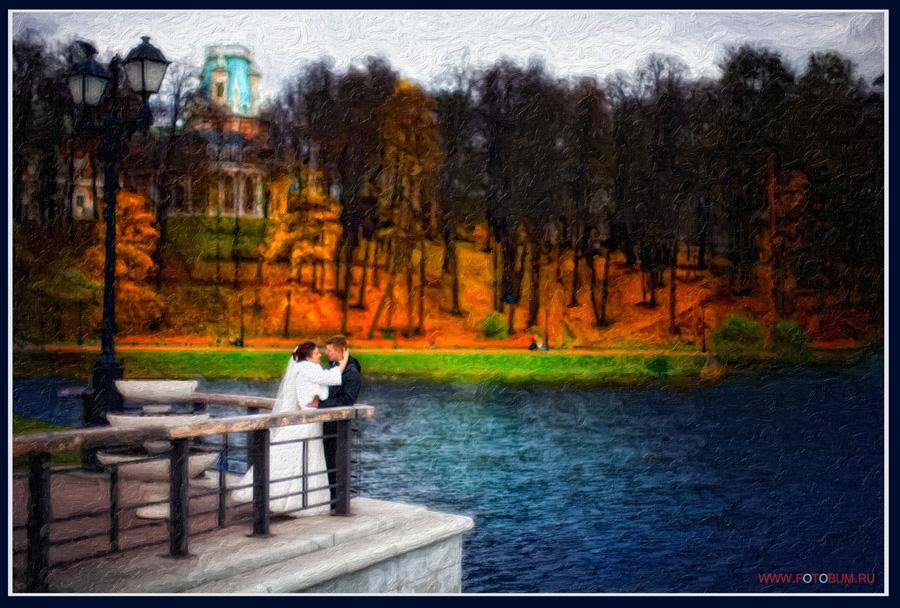 Свадебная фотография Царицыно