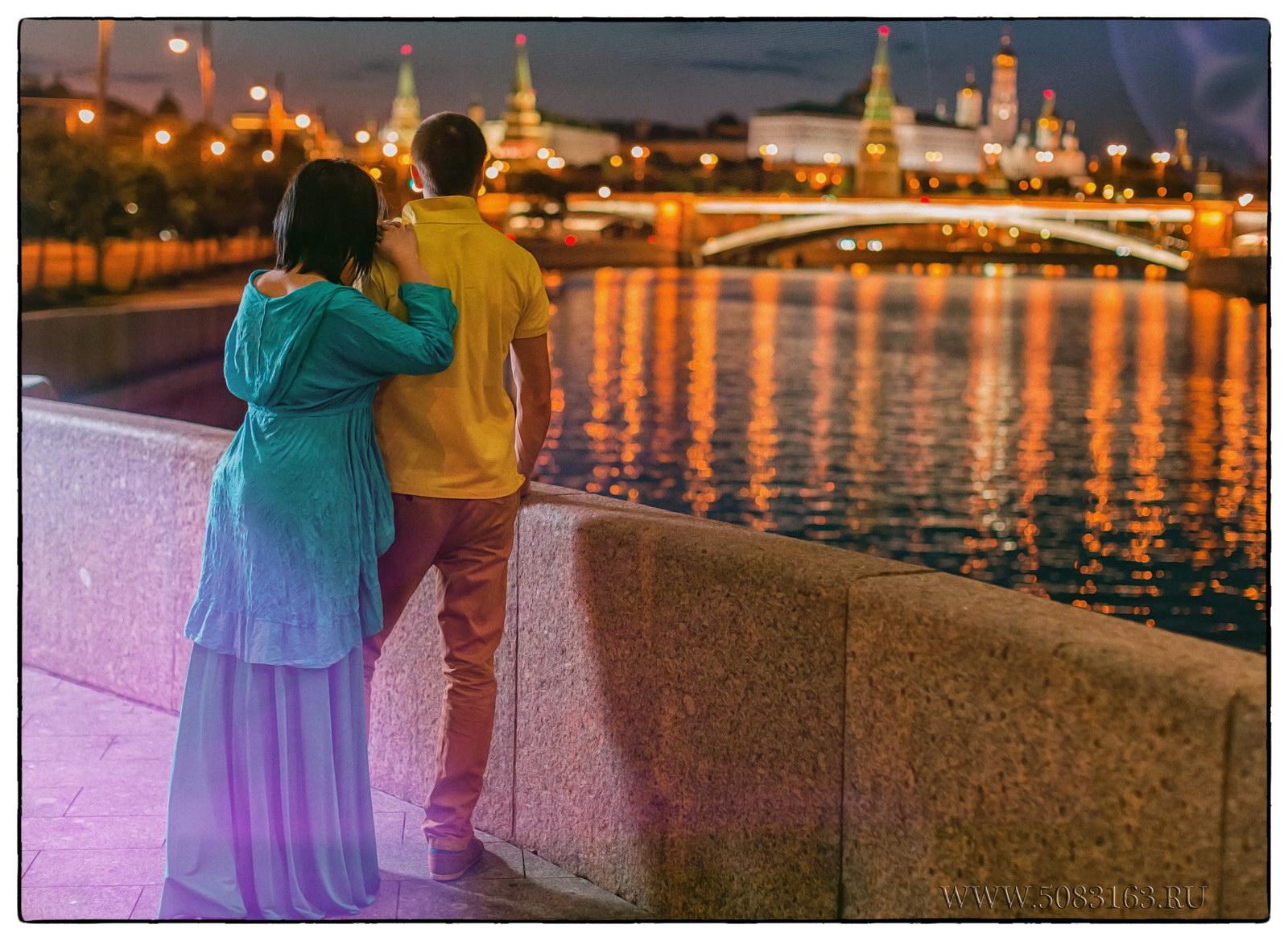 Фотосъемка ночью love story